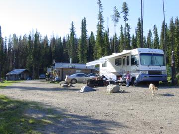 Vanderhoof bc campgrounds with hookups